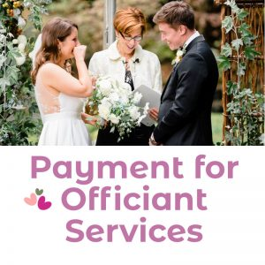 Payment for Officiant Services